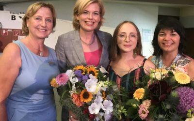 Alexandra Widiger als LandFrau des Jahres 2018 ausgezeichnet