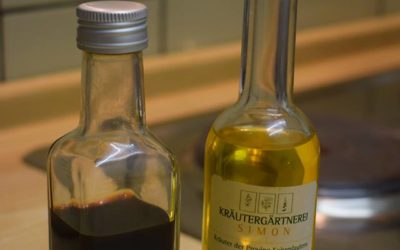 Wie bleibt eine Essig-Öl-Marinade stabil?