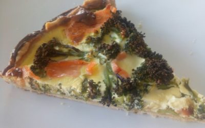 Brokkoli-Lachs-Quiche